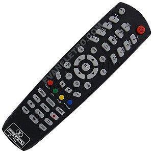 Controle Remoto Receptor Tocomsat Inet 4K