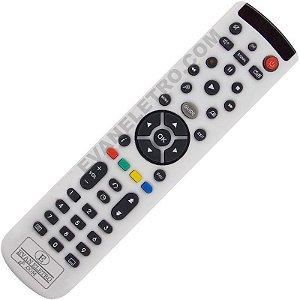 Controle Remoto Para Receptor HD Duo S3 + NET3