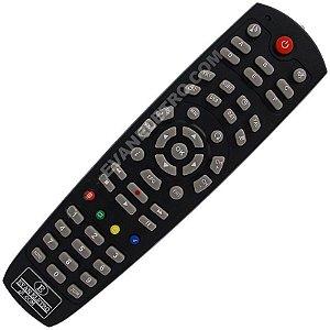 Controle Remoto Receptor Megabox MG3 HD Plus / MG5 ACM / MG7 HD / MG2 PLUS HD / 3000 PLUS HD / MG 7 HD Plus