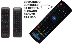 Controle Remoto Para Receptor Supertv Red Edition / Black X