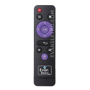 Controle Remoto Para Receptor Tv Box MX1-SE / Mx10 PRO /  MX10  /  MX10 mini 4K / H10 play 6K Original