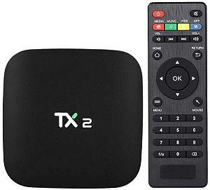 Receptor tv box TX2 Quad Core 3Gb Ram 32Gb Android 7.1 Wifi