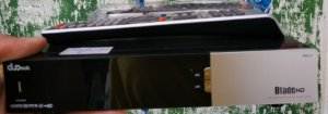 Receptor Duosat Blade HD Usado (150 no deposito bancário)