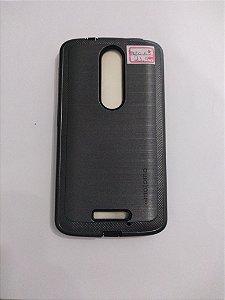 Capa Anti-impacto para o Motorola Moto X 3 cor preta