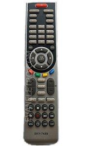 Controle remoto para Receptor SKY-7489 / LE-7050 / CRS-7555