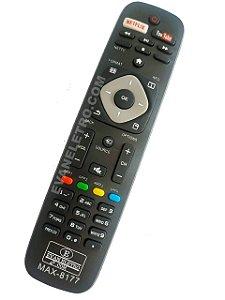 Controle remoto para tv Philips LE-7516 / Max-8177 / VC-8177