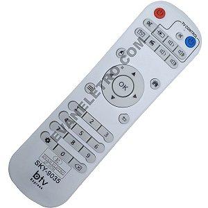 Controle Remoto para Receptor BTV SKY-9035