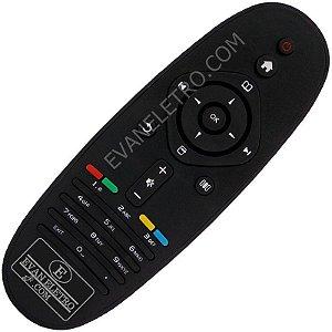 Controle Remoto TV LCD Philips 32PFL5615D / 32PFL6615D / 40PFL5615D / 40PFL6615D / 40PFL8605D / 46PFL5615D / 46PFL6615D / 52PFL8605D / 58PFL9955D