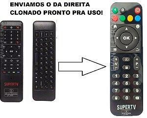 Controle Remoto Para Receptor SuperTv Black X