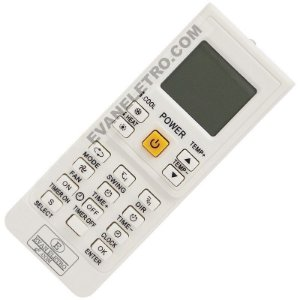 Controle Remoto Universal Ar Condicionado KT-9018E (90 Marcas)