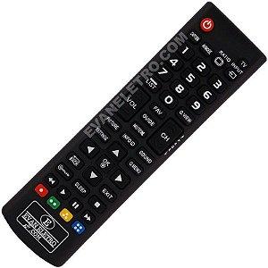 Controle Remoto TV LCD / LED / Plasma LG AKB73715613 / 32LN540B / 32LN536B / 32LN5400 / 39LN5400