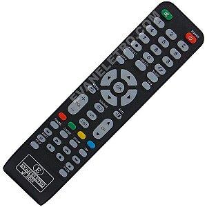 Controle Remoto TV LCD / LED CCE RC-512 / CW3201 / D3201 / D32LED / D37 / D46 / L2401 / LW2401 / STILE D4201