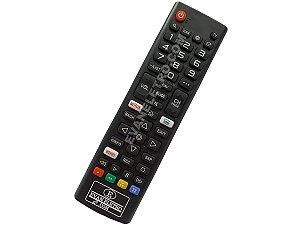 Controle Remoto para TV LG NETFLIX Prime Video AKB75675304