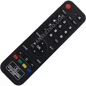 Controle Remoto para Receptor LHS 7101 / RBR 7101