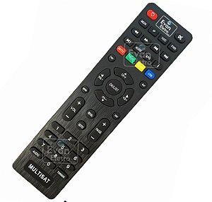 Controle Remoto Para Receptor Multisat M100 Plus