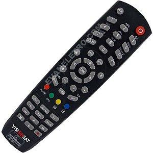 Controle Remoto para Receptor Visionsat Play HD