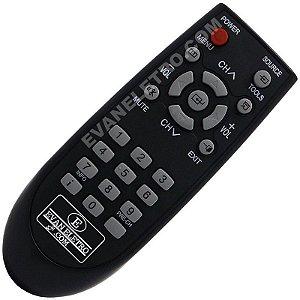 Controle Remoto TV Samsung BN59-00960A / BN59-00907A / CL21Z43 / CL21Z45 / CL21Z47 / CL21Z50 / CL21Z55 / CL21Z57 / CL21Z58 / CL21AE0 / CL21AF0 / CL21AJ0 / CL21AM0 / CL21BH0 / CL14BK0