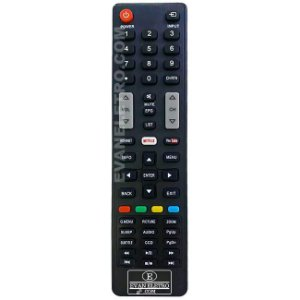 Controle Remoto TV LED SEMP TOSHIBA CT-8045 / 55L5400 / 55L7400 / Netflix e Youtube (Smart TV)