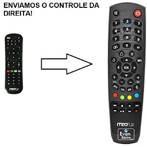 Controle Remoto Para Receptor Meoflix Flixter