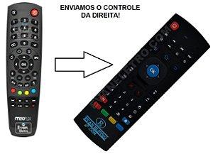 Controle Remoto Para Receptor MeoFlix Flixter / Flixter Black (FUNCIONA TUDO)