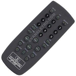 Controle Remoto TV CCE RC-201 / RC-206 / HPS1403 / HPS1405 / HPS2003 / HPS2004 / HPS2005 / HPS2006 / HPS2023 / HPS2706 / HPS2901 / HPS2904 / LE-7179 / HPS2906 / HPS2912