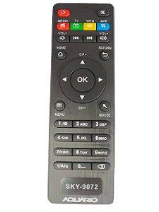 Controle Remoto TV Box Aquário SKY-9072