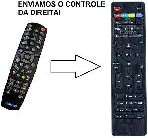 Controle Remoto para Receptor Probox Multi-Media Player PB 180 / Sirius