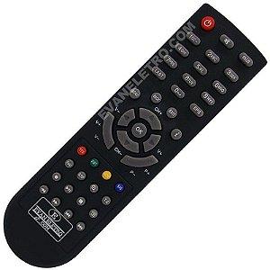 Controle Remoto Tocomsat Phoenix HD / Phoenix HD IPTV