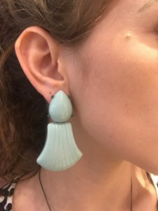 Brinco Resina Caribe Tiffany