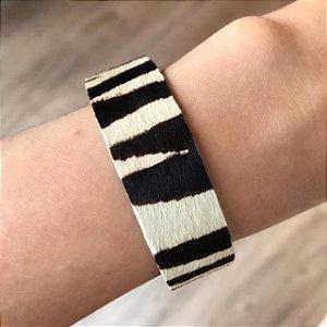 Pulseira Animal Print Média Zebra