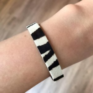 Pulseira Animal Print Pequena Zebra