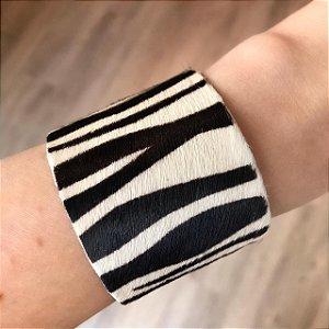 Pulseira Animal Print Grande Zebra