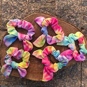 Scrunchie de Cabelo Tie Dye