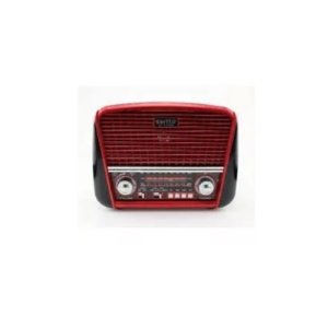 Radio Retro Vintage Portátil J-107 Vermelho