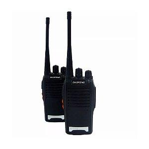Kit 2 Radios Comunicadores Walk Talk Baofeng BF-777s