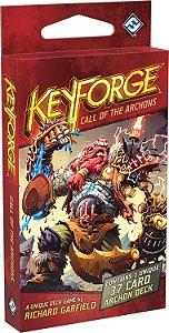 KeyForge: O CHAMADO DOS ARCONTES – DECK ÚNICO ( EM PORTUGUÊS)