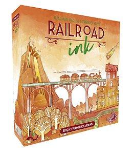 Railroad Ink: Edição Vermelho Ardente