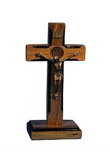 Crucifixo de madeira - 16 cm