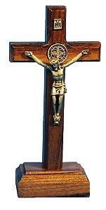 Crucifixo de madeira - 11 cm