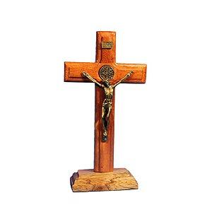 Crucifixo de madeira - 20 cm