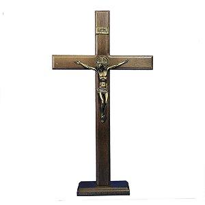 Crucifixo de madeira - 42 cm