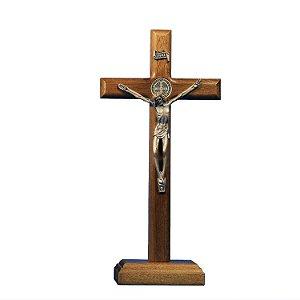 Crucifixo de madeira - 21 cm