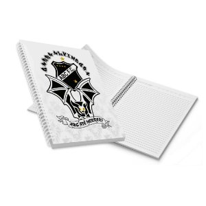 Caderno Grande Capa Dura Morcego