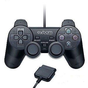 Controle PS2 - Exbom