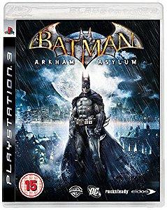 Batman: Arkham Asylum - Ps3 - Mídia Física