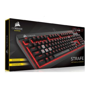 Teclado Gamer Corsair Strafe Mecânico Switch Cherry MX Red