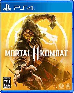 Mortal Kombat 11 - PS4 - Pré Venda