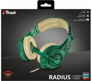 Headset Trust Radius Jungle Camo