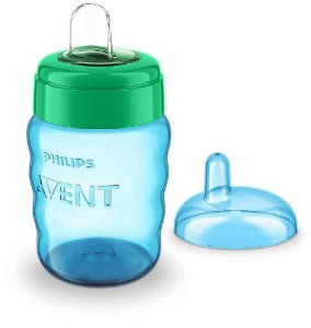 Copo Easy Sip 260ml 9m+ (Azul) -  Philips Avent