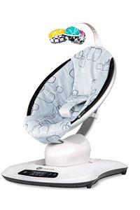 Cadeira Mamaroo 4.0 Silver Plush - 4Moms